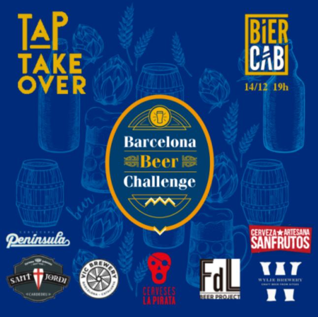 Taptakeover at the Biercab